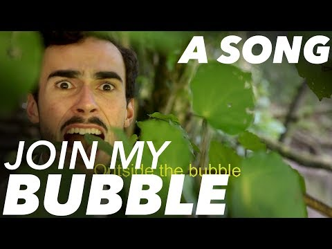 'Join My Bubble' | White Man Behind A Desk