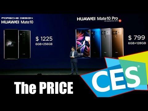 Huawei Mate 10 - Mate 10 Pro - Wifi Q2 : The PRICE