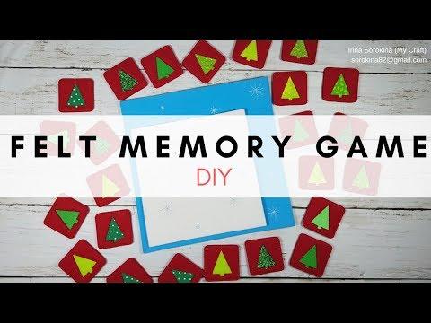 Felt memory game tutorial thumbnail