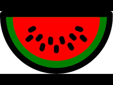 Simple and Easy Watermelon Painting with Paper Plate  sc 1 st  YouTube & Simple and Easy Watermelon Painting with Paper Plate - YouTube