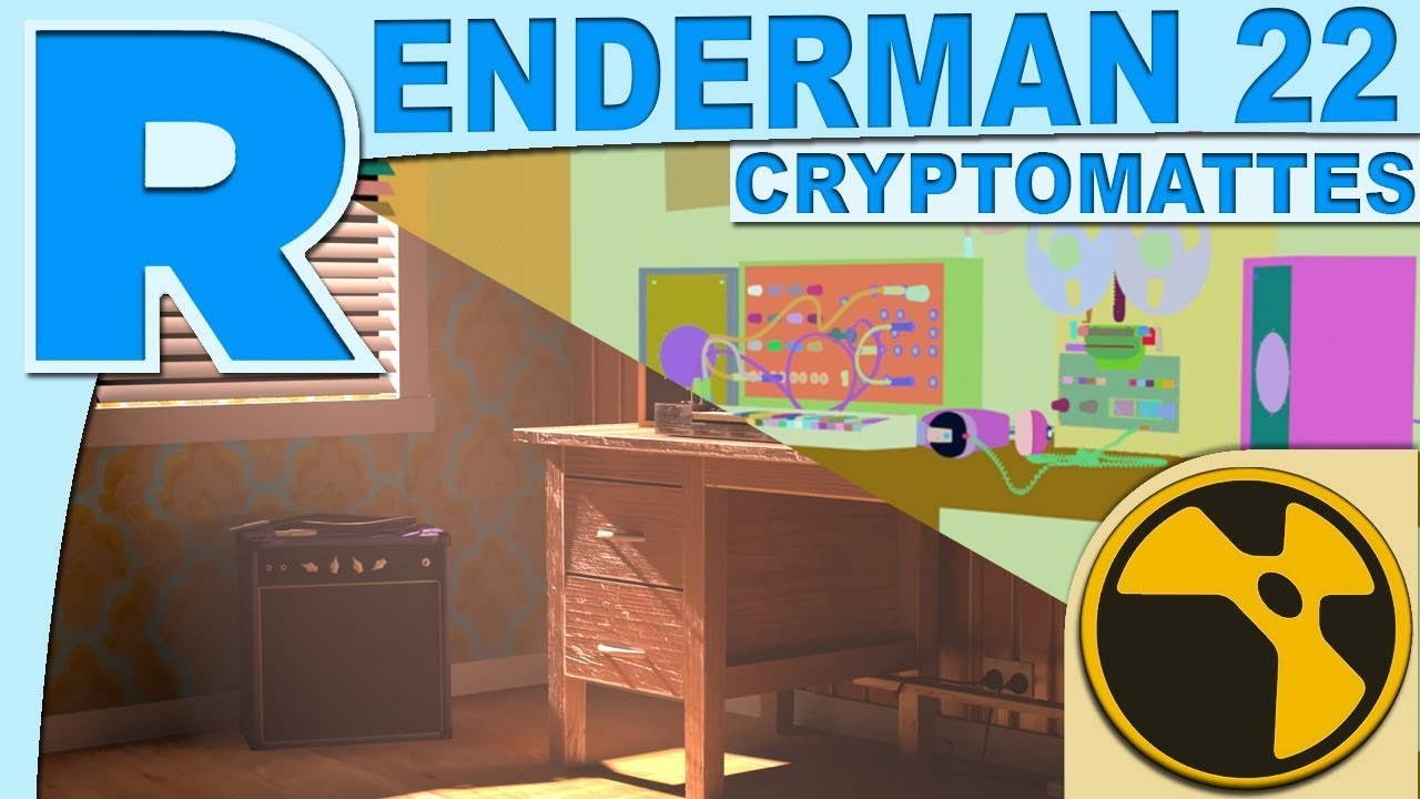 Renderman 22 Cryptomatte with Nuke Tutorial