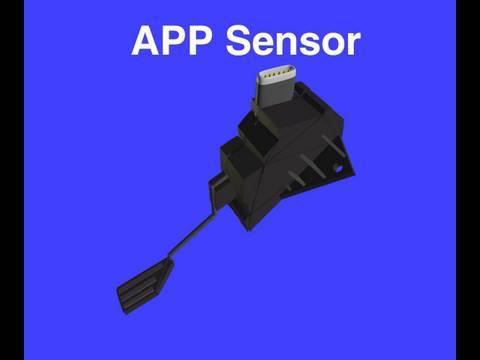 Accelerator Pedal Position Sensor - YouTube