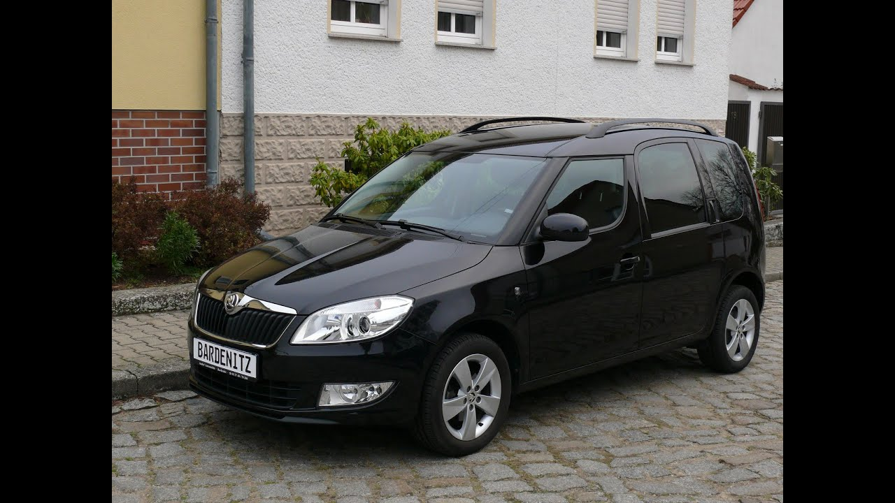 skoda roomster 1 2 tsi vario flex sitze jahreswagen zu verkaufen youtube. Black Bedroom Furniture Sets. Home Design Ideas