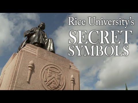 Hidden messages & secret symbols of Rice University   Dave Ward's Houston