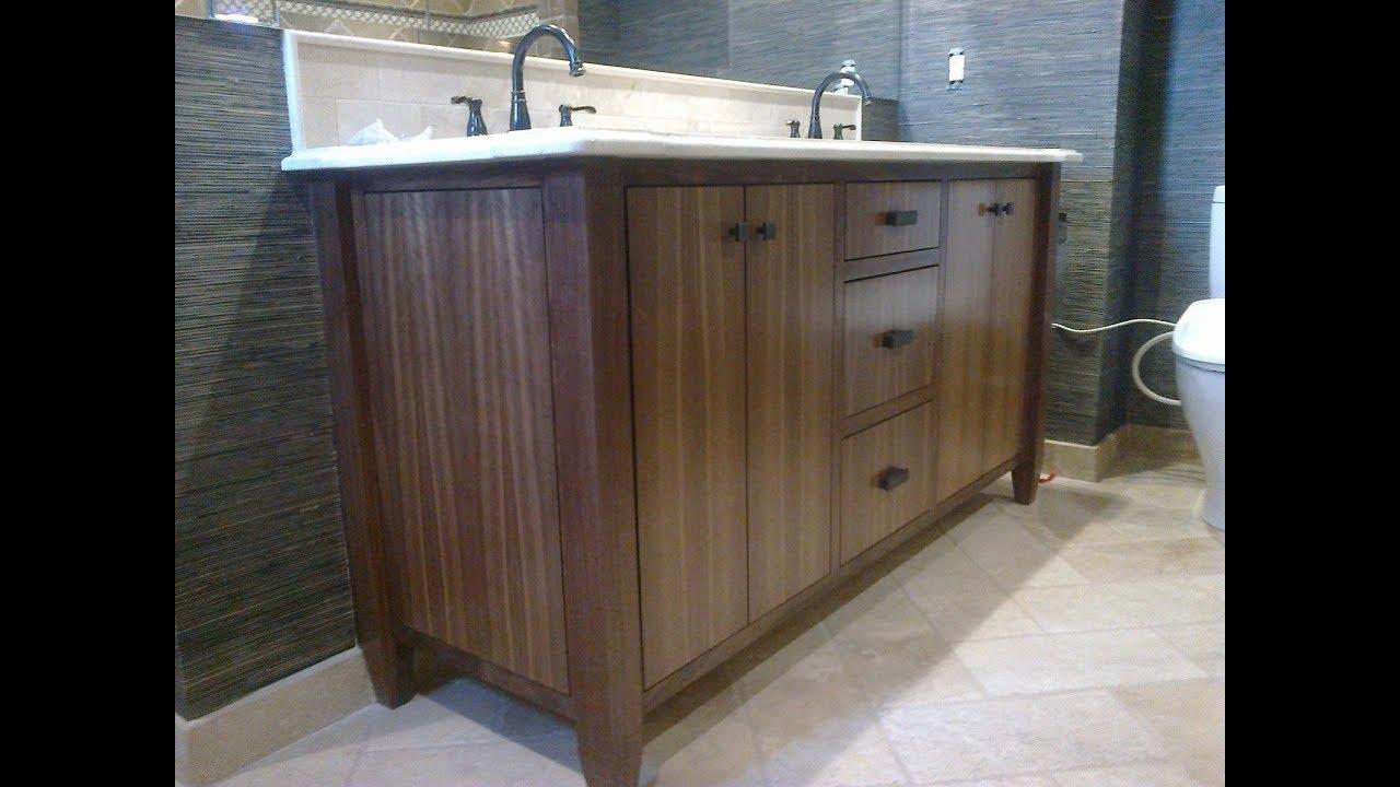 Charmant Walnut Bathroom Vanity