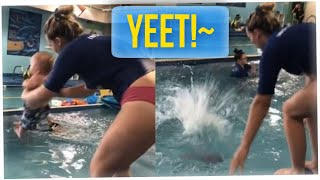 TikTok Goes Viral After Swim Instructor Shows the Hilarious Process (ft. Gina Darling)
