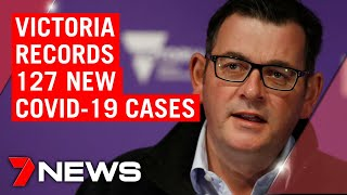 Coronavirus: Victoria records 127 new COVID-19 cases