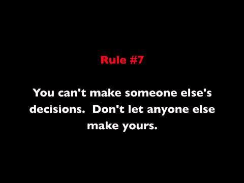 13 Rules of Leadership