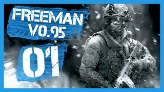 """""""v0.95 - NEW UPDATE"""" Freeman Guerrilla Warfare Gameplay PC Let's Play Part 1"""
