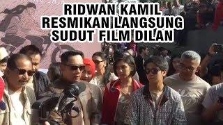 Ridwan Kamil Resmikan Langsung Sudut Film Dilan