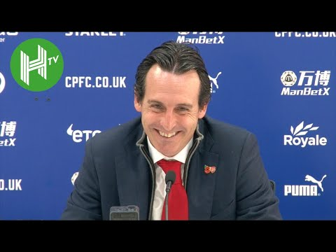 Crystal Palace 2-2 Arsenal | Unai Emery: I liked Mesut Ozil's angry reaction to being substituted!