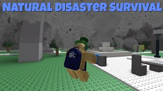 Roblox Natural Disaster Survival OOF