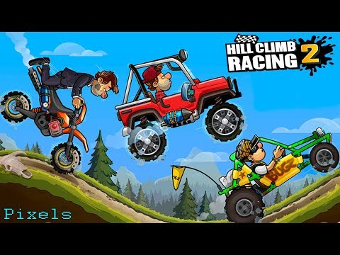 Hill Climb Racing 2 - New Vehicles Unlocked