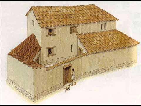 La casa en grecia youtube Como eran las casas griegas