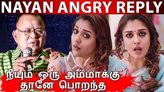 Nayanthara Slams Radha Ravi