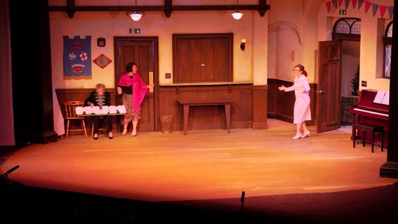 """ivoryton girls When chris comes up with the idea for a nude calendar, the """"girls,"""" after the initial shock wears off,  margaret rosher on (grease at ivoryton playhouse, ct."""