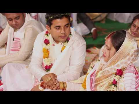 "BRIDE - ""RAJASHREE"" ! ASSAMESE WEDDING HIGHLIGHT"