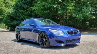 What It's Like To Own A 120,000 Mile E60 BMW M5!