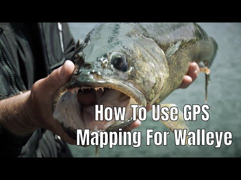 How To Use GPS Mapping For Walleye | Fish'n Canada