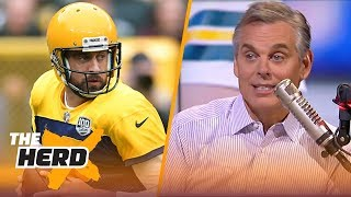 Colin Cowherd: Aaron Rodgers seemingly doesn't get along with anyone long term | NFL | THE HERD thumbnail