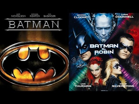 Batman (1989)/Batman and Robin (1997) - Ending Theme Swap