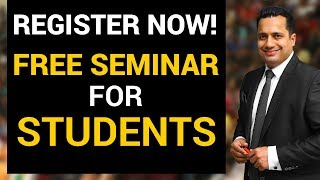 Register Now | Student Leadership Conclave | Free Seminar For Students | Dr Vivek Bindra