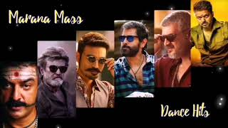 Marana Mass Dance Hits || Tamil Dance Kuthu Songs 🖤❤️🖤❤️🖤❤️🖤