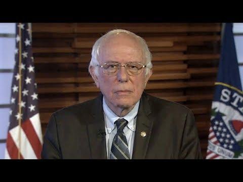 Bernie Sanders Responds to Trump's Oval Office Address