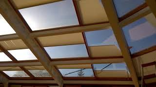 Шторы Плиссе потолочные с электроприводом