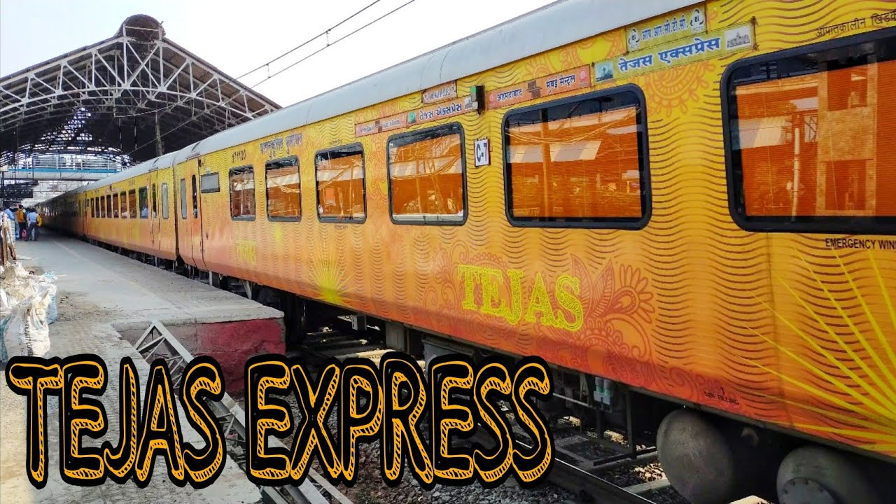 Private Train Tejas Express Mumbai To Ahmedabad