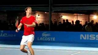 Andy Murray Smash @ ATP Masters London