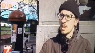 Matt Urhin- Fed Ex Hero stops flag burning