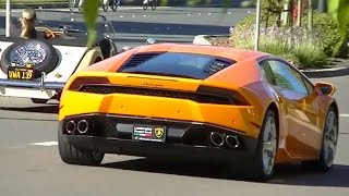CARS & COFFEE Exotic Supercars + Wild Burnouts in Blackhawk November 2014