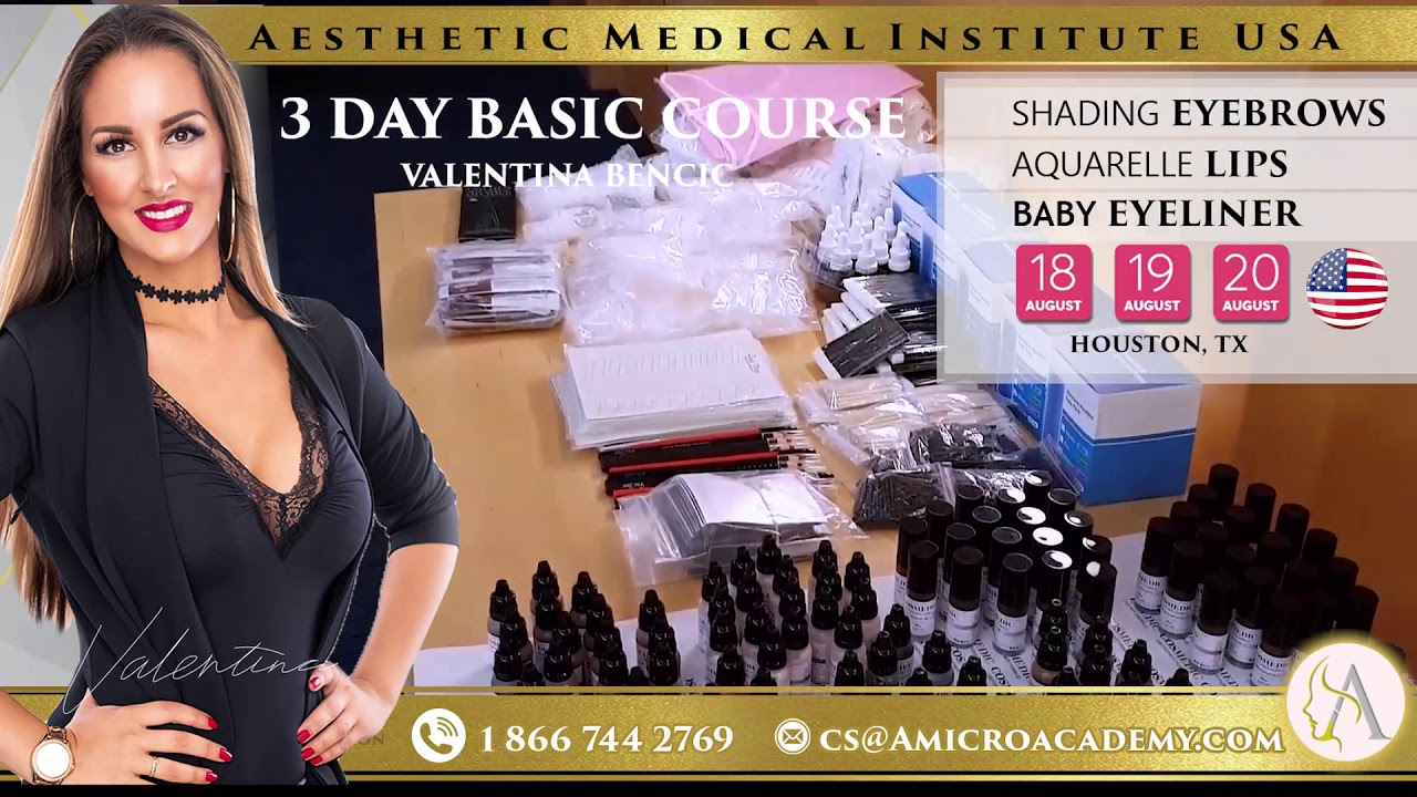 3DAY COURSE AESTHETIC MEDICAL INSTITUTE TRAINING IN HOUSTON TX