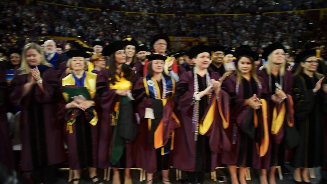 Arizona State University Graduate Commencement - Spring 2016 - YouTube
