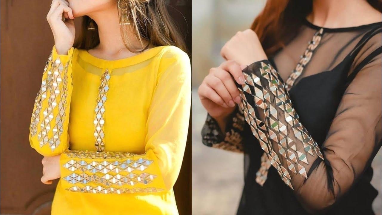 top neckline designs for kurtis || gale ki design - youtube