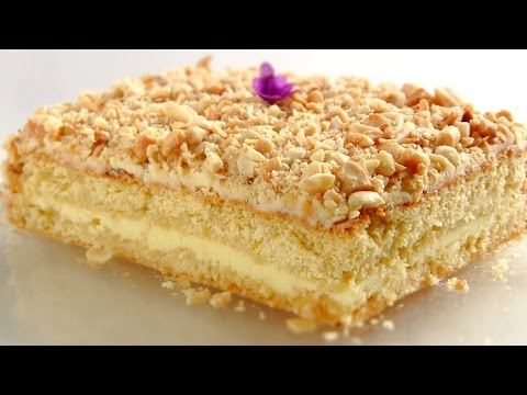 Торт Подарочный / Простой и очень вкусный бисквитный торт