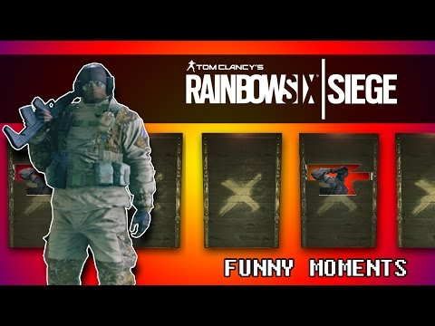 Rainbow Six Siege | GLAZ ROULETTE! (Funny Moments)