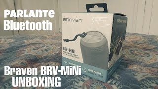 Parlante bluetooth BRAVEN BRV-150 | UNBOXING