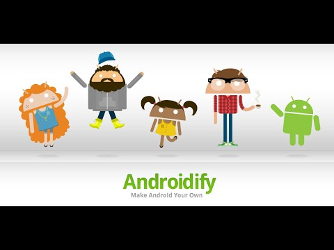 #10 Androidify - Create your own Android & Live wallpaper (Theme in the description) - YouTube