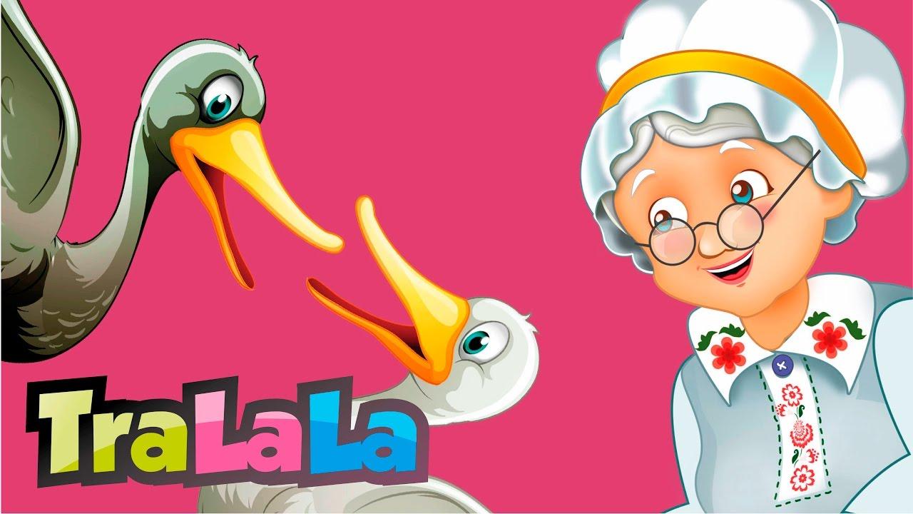 Băbușca și rațele - Cântece pentru copii | TraLaLa