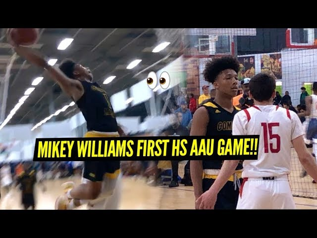 f8b62ae7878 Mikey Williams   Compton Magic Get Tested At Adidas Gauntlet LA!!