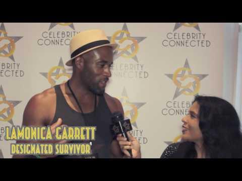 Designated Survivor star Lamonica Garrett  with Celebrity Connected