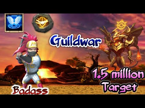 Ronin | Badass | In Action | Guildwar | New Traits |  Vs 1.5 Million Might | Castle Clash
