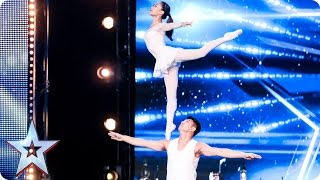 Gao Lin & Liu Xin stun with their elegant acrobatics | Auditio…