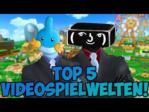 Top 5 Videospielwelten, in denen wir gern leben würden - RGE & Juan