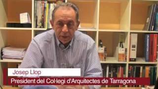 delCamp.cat | Entrevista Josep Llop, president Col·legi d'Arquitectes de Tarragona