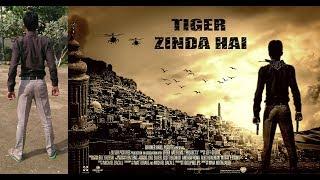 TIGER ZINDA HAI  Poster Photoshop tutorial | Make a Salman khan Movie Poster