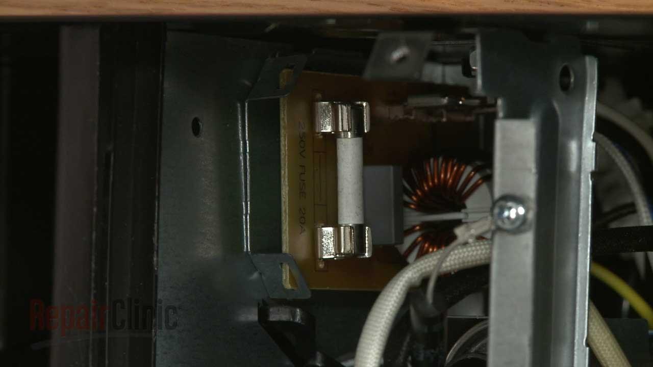 whirlpool microwave isn t working line fuse w10422951