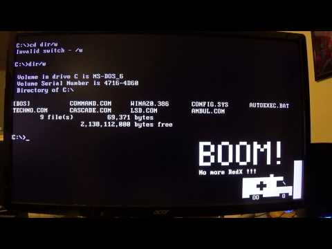 MS-DOS on an i7 4790k